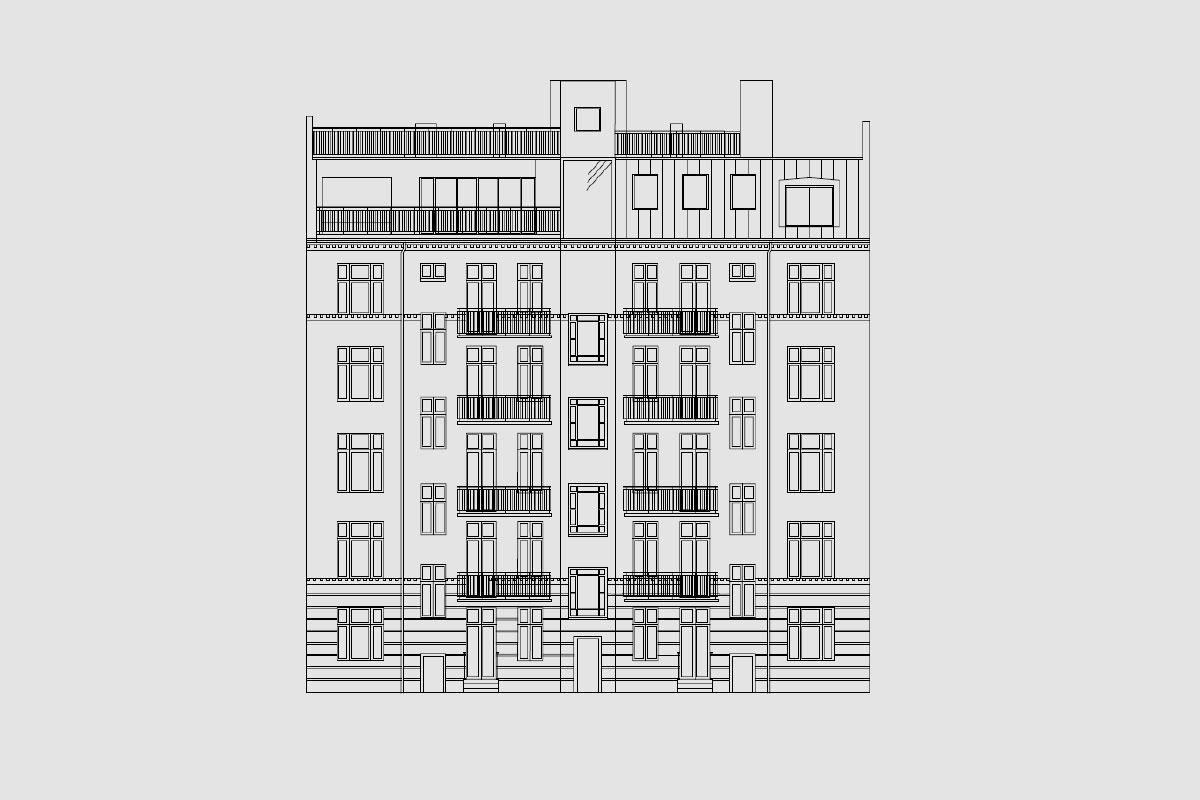 Frederiksberg – Taglejlighed og tagterrasse på Steenstrups Alle