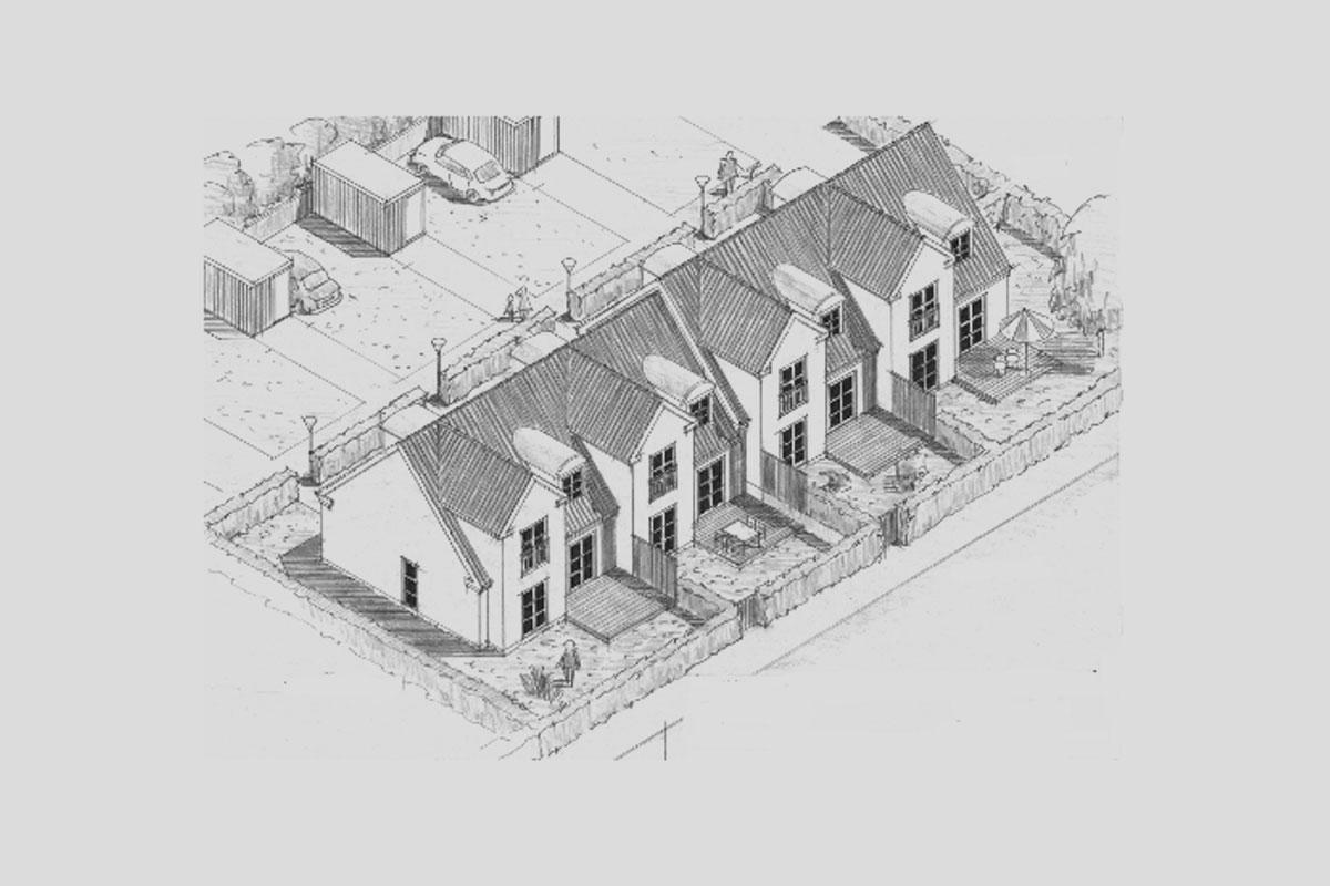 Rækkehusbebyggelse – Greve Bygade
